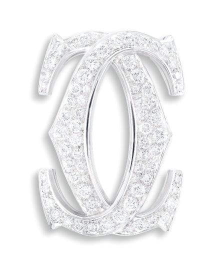 A Diamond Brooch, Cartier