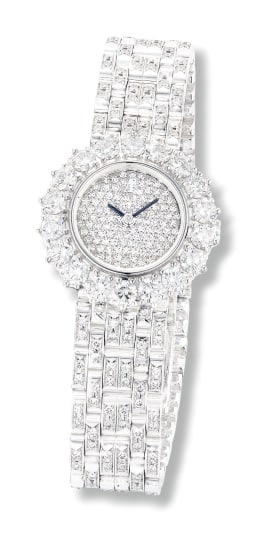 A Diamond Wristwatch, Audemars Piguet