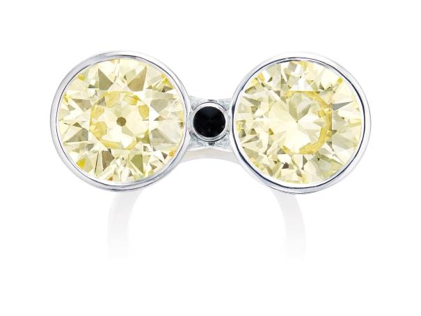 A Diamond Ring, Monture Cartier