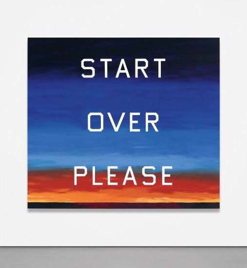 Start Over Please