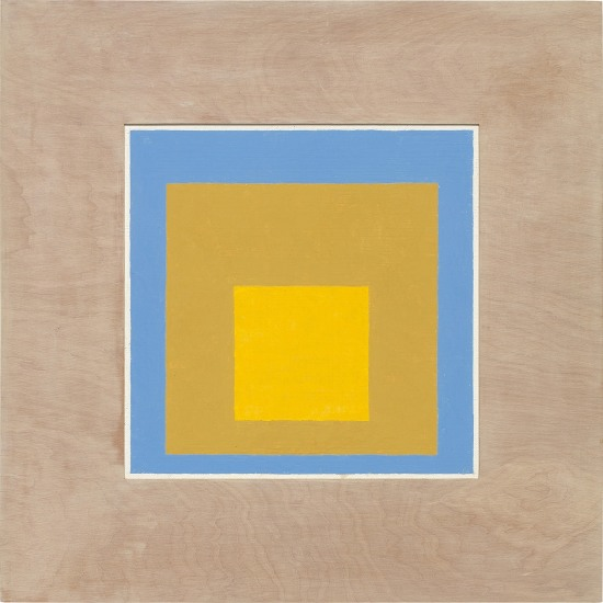 Homage to the Square: In Wide Light B