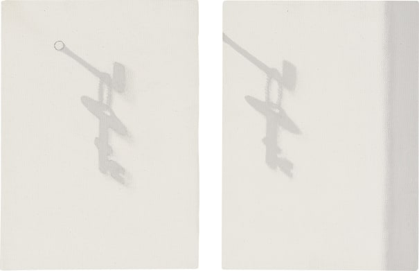 Two works: (i) Shadow No. 1467; (ii) Shadow No. 1468
