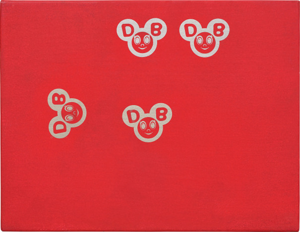 Untitled (Red And Gold DOBs)