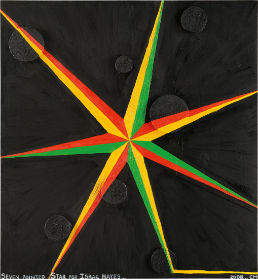 Seven Pointed Star for Isaac Hayes