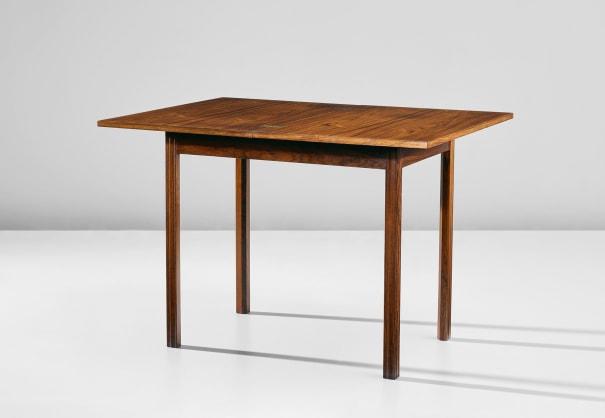 Unique folding table, from a private commission, Copenhagen