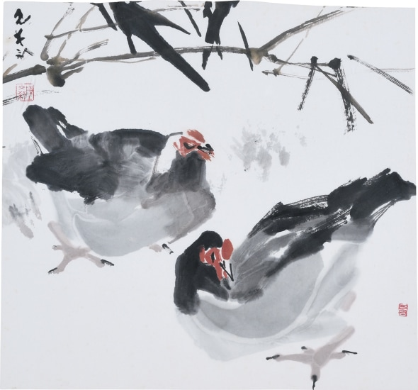 A Pair of Chickens