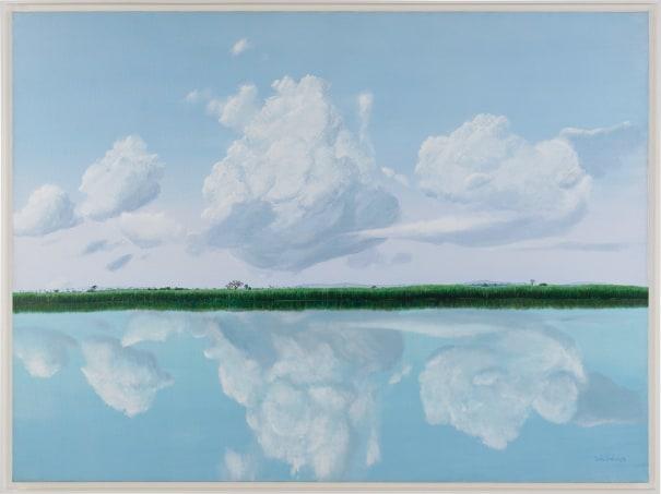 Orilla: Espejo de las Nubes