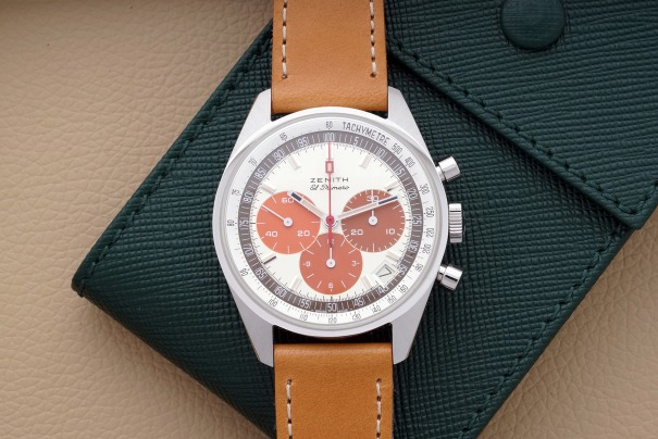 El Primero A386 Revival in stainless steel for Phillips