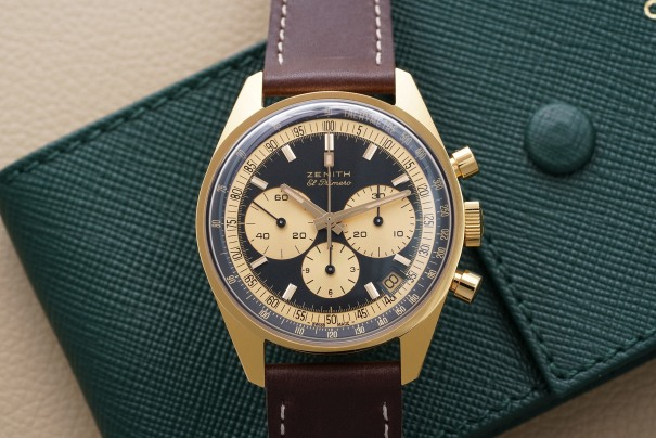 El Primero A386 Revival in yellow gold for Phillips