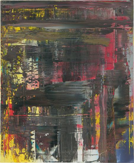 Abstraktes Bild (715-6)