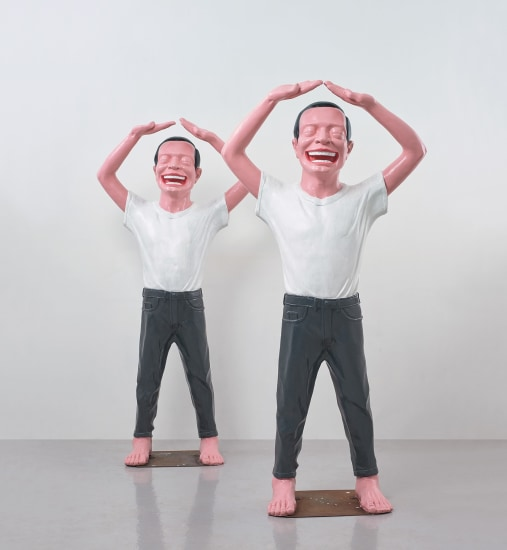 Two works: Contemporary Terracotta Warriors No.5
