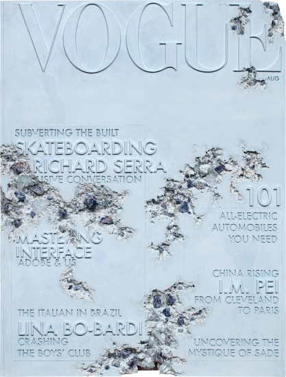 Quartz Eroded Vogue Magazine 101