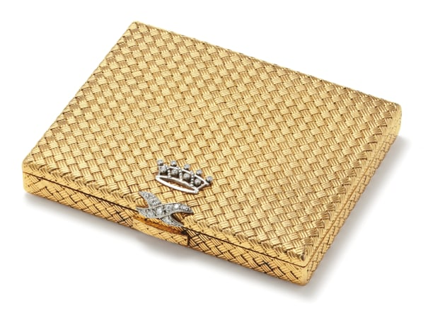 A Diamond and Gold Box