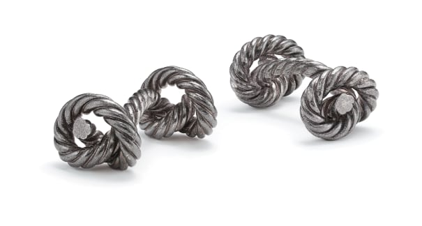 A Pair of Sterling Silver Cufflinks
