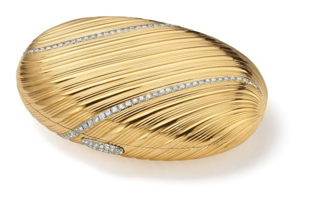 A Diamond and Gold Minaudière