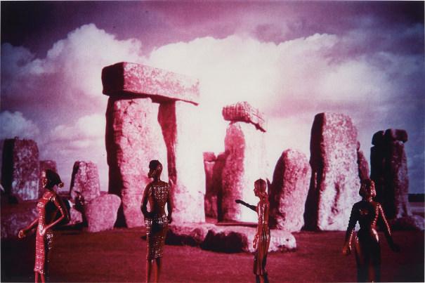 Tourism Pink Stonehenge