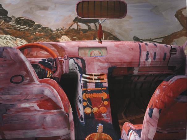 Guston Car interior
