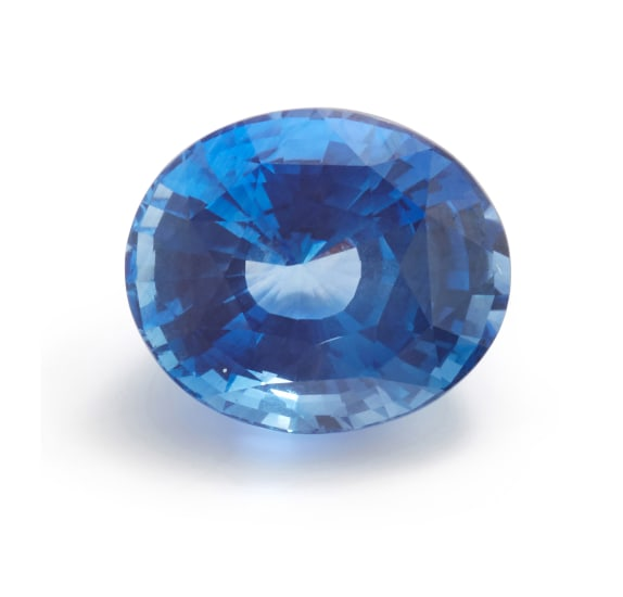 An Unmounted Sapphire