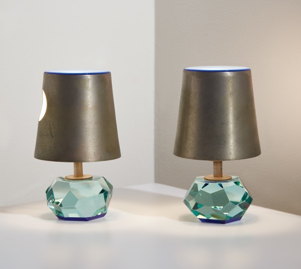 Pair of table lamps, model no. 2228