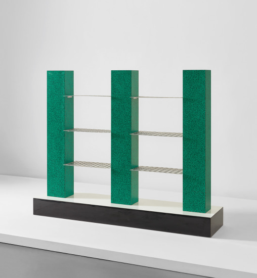"""Alessandria d'Egitto"" bookcase from the ""Bau.Haus II"" collection"