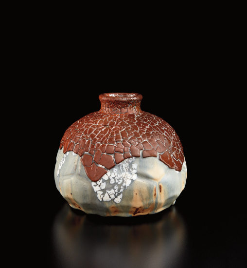 Gourd-form vase