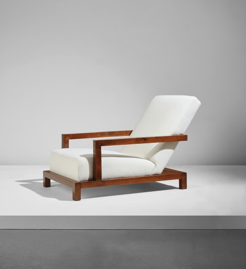 Rare armchair, designed for the apartment of Dr. Fritz Wittels, New York