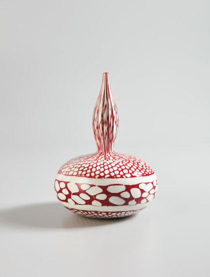 """Unique """"Mosaico a Polvere"""" vase"""