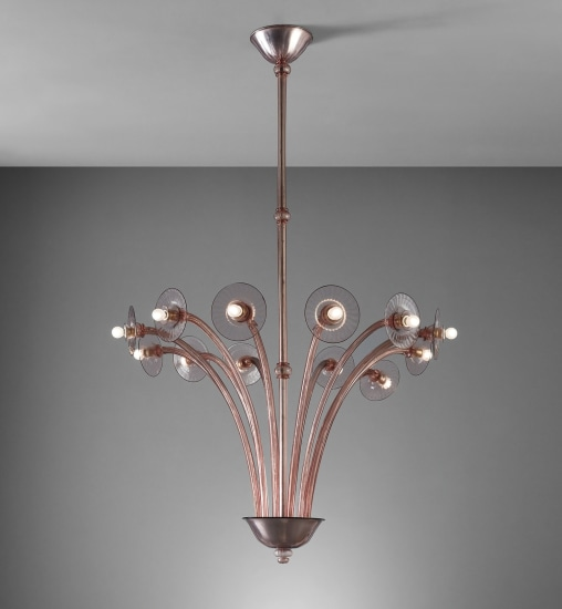 Monumental chandelier