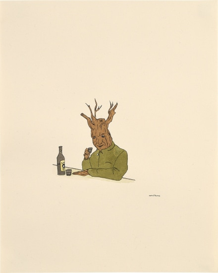 Treeman with Drink