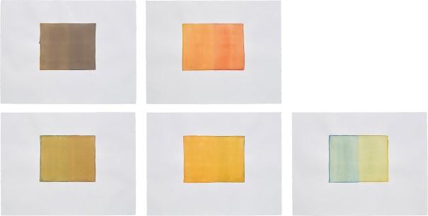 Five Works: (i) Untitled; (ii) Untitled;(iii) Untitled; (iv) Untitled; (v) Untitled