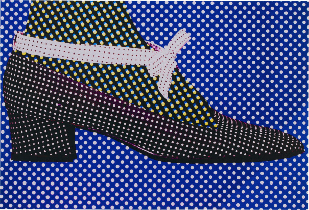 Polka Dot Shoe Pois, Editorial, Harper's Bazaar