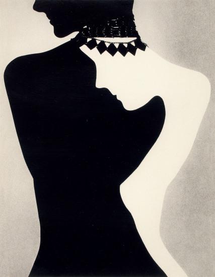 Silver Silhouette, Jewelry Editorial, Harper's Bazaar