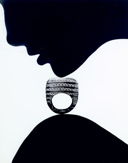 Jewelry Chandelier Champagne, Editorial, Japanese Vogue (with Piaget ring)