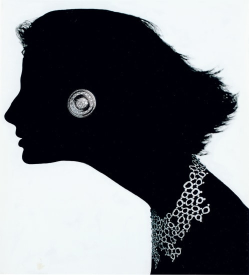 Jewelry Chandelier Champagne, Editorial, Japanese Vogue (with Piaget earring and De Beers necklace)