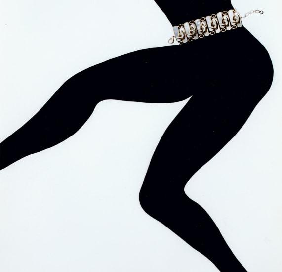 Jewelry Chandelier Champagne, Editorial, Japanese Vogue (with Van Cleef & Arpels white belt)