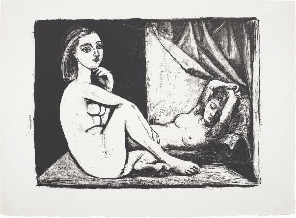 Les Deux femmes nues (Two Nude Women)