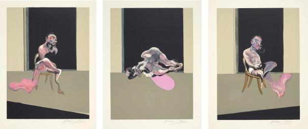 Triptyque Août 1972 (after, Triptych August 1972)