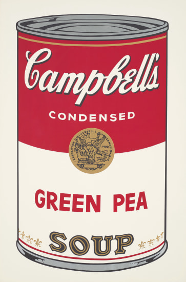 Green Pea, from Campbell's Soup I