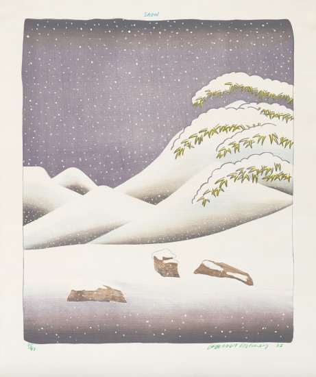 Snow, from Weather Series
