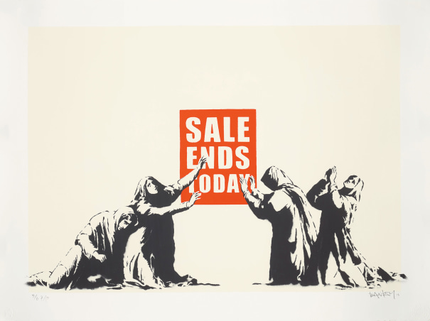 Sale Ends, from Barely Legal