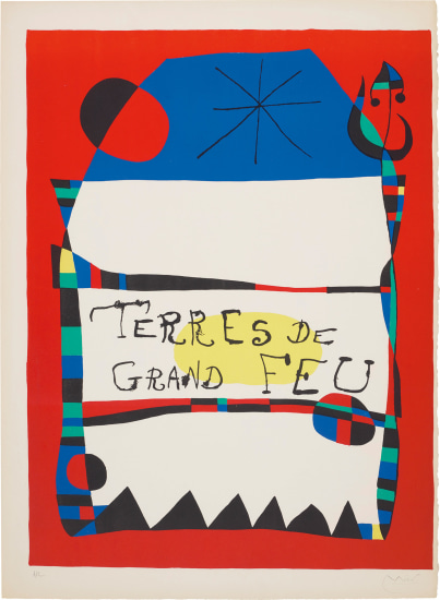 Exhibition 'Terres de grand feu (Land of Great Fire), Miro-Artigas', at the Galerie Maeght