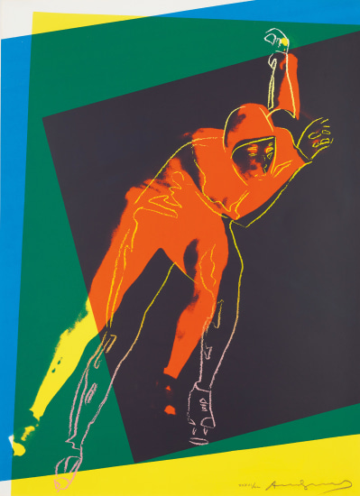 Speed Skater, from Art and Sports portfolio