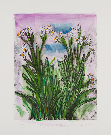 Jim Dine The History Of Gardening Series Plate Iii Phillips