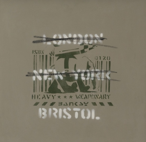 London, New York, Bristol (Heavy Weaponry)