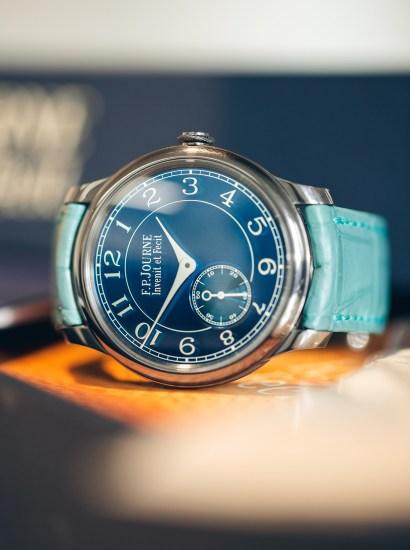 Chronometre Bleu, complete set
