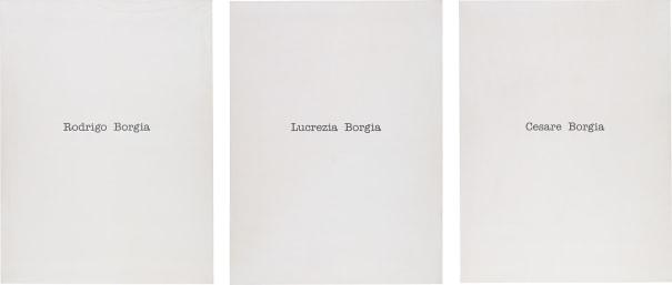 Rodrigo Borgia, Lucrezia Borgia, Cesare Borgia