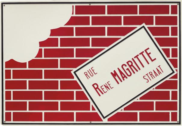 Rue René Magritte Straat