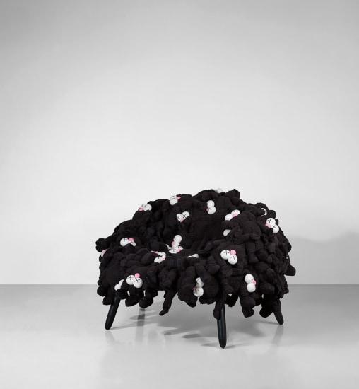 KAWS Chair Black