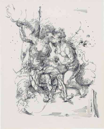 Drawing 30 (after Gossaert)