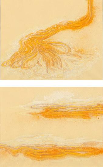 Two works: (i) Liquid Gold (Smokestack); (ii) Liquid Gold (Nimbus)
